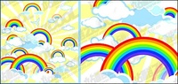 lovely,rainbow,illustration,material