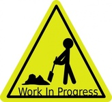 work,progress,sign,road,activity,media,clip art,public domain,image,png,svg