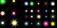star,shining,color,vector,material