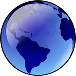 blue,earth,media,clip art,public domain,image,png,svg,planet,globe,world,geography,glossy