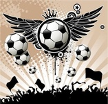 football,background,with,ball,wing,star