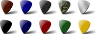 guitar,pick,set,music,play,plectrum,media,clip art,public domain,image,jpg,svg