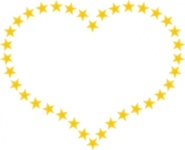 Free Download Of Red Heart Shaped Border With Little Hearts Clip Art