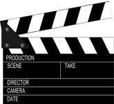 movie,clapper,board,clapperboard,clapboard,slate,slate board,sync slate,stick,marker,film,video