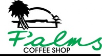 palm,coffee,shop,logo