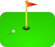 golf,flag,sport,green,ball,media,clip art,public domain,image,png,svg