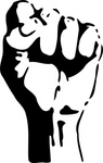 raised,fist,media,clip art,externalsource,public domain,image,png,svg,people,icon,sign,hand,revolution,radical graphics
