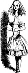 alice,wonderland,media,clip art,public domain,image,png,svg,alice in wonderland,literature,john tenniel