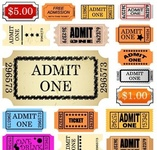 ticket,admit