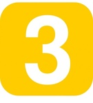 number,yellow,rounded,square
