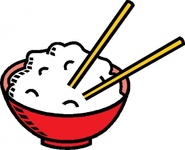 bowl,rice,food,grain,chopstick