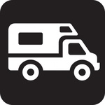 truck,park,map,pictograph,symbol,sign,cartography