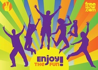 active,boy,colorful,energy,friend,friendship,fun,girl,glad,happiness,happy,joy,jump,jumping,people