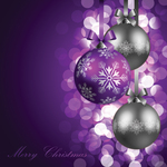 background,ball,bokeh,celebration,christmas,darkness,december,elegance,elegant,festivity,glowing,holiday,illustration,light,new,night,nobody,purple,ribbon,shine,snow,snowflake,winter,xmas,year