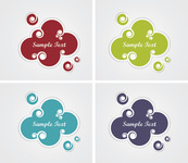 background,banner,blank,bubble,cloud,color,colorful,communication,design,green,icon,isolated,message,modern,note,paper,price,round,set,shape,space,sticker,symbol,template,text,think
