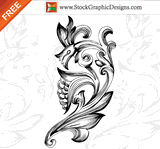 decoration,decorative design,filigree,floral element,flourish,flower,nature,ornament,swirl