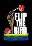 angry,bird,angry bird,flip the bird,fly,cartoon,video game,game