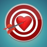 heart,break,breaking,arrow,hit,abstract,illustration,dart,circular,broken,centre,vector