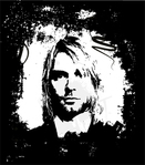 kurt cobain face,cobain,music,musician,people,man,rock and roll