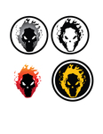 skull,flame,logo,icon,fire,firey