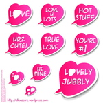 love,valentine,allonzo,cute,heart,inc,pink,red,romance,sticker