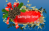christmas,frame,template,acorn,wreath,celebration,holiday,season,seasonal,card,red,gold