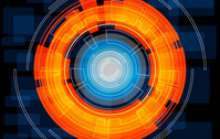 technology,circle,orange,bright,light,abstract,element,robotic,future,futuristic,lin
