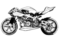 black,white,motorcycle,motor,bike,race,big,skeletal,cross,section