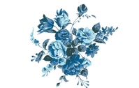 floral,flower,nature,abstract,illustration,blue