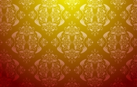 seamless,vector,damask,wallpaper,gold