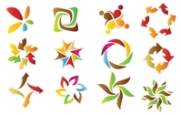 shape,element,red,blue,yellow,brown,logo,icon
