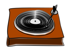 vinyl,disc,disk,record,player,music,sketch,multimedia,media