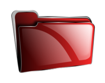 folder,icon,red,empty,roshellin