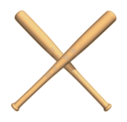 crossed,bat,baseball,bat