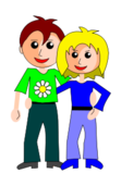 ehepaar,couple,people,pair,cartoon,girl,man,woman,frau,mann,liebespair,love,drakoon,jogdragoon,ehepaar