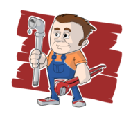 plumber,plumbing,pipe,wrench,human,work,profession,tradesman,tradesperson,job,cartoon,man