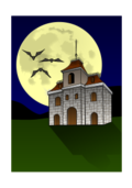 house,haunted,bat,moon,night,darkness,fear,danger,ghost,halloween,scary