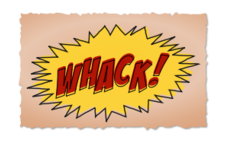 comic book,whack,sound effect,comic,vintage,retro,header,headline