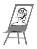 sketch,portrait,drawing,molbert