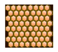 hexagonal,cell,honey,comb,3d,pattern,public,domain