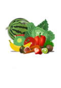 fruit,vegetable,veggie,food,healthy,set,group,watermelon,cut,cabbage,artichoke,banana,tomato,carrot,fig,strawberry,berry,red pepper,pepper,kiwi,health,eat,eating,summer