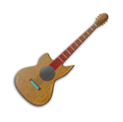 guitar,music,instrument,acoustic,song,note,wooden,public,domain,note,svg,png