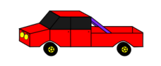 cartoon,car,transport,ute,red,purple,yellow,tint,tinted,colour,star,wheel,circle,light,door,van,truck,four,wheeler,four wheeler,cartoon,car,transport,ute,red,purple,tint,tinted,colour,light