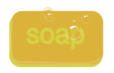 gold,tan,soap,bar,bubble,suds,wash,clean,household,scrub,sink,bath,bathe,gold,bubble,clipart,svg,inkscape