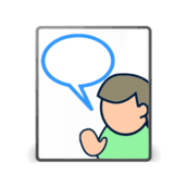 icon,comic,person,word  bubble,call out,user,icon,comic