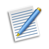 paper,pen,blue,yellow,ink,writing,white,png,svg,how i did it,public domain,media,clip art
