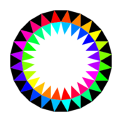 rainbow,24gon,24,sided,polygon,star