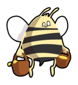 bee,cartoon,animal,honey