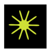 meditation,spirituality,star,light,spike wheel,chakra,energy point,sun,yellow green