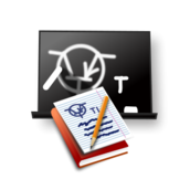icon,study,learn,chalkboard,book,notepad
